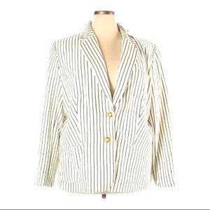 Lauren Ralph Lauren 20W NWT Long Sleeve Blazer